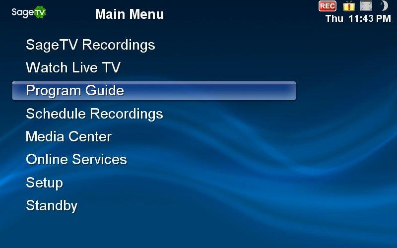 SageTV® Media Center v6.6